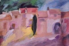 Albero solitario - Olio su carta 73 x 48 – € 250
