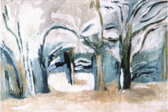 Inverno - Tempera su tela 30 x 20 - € 100