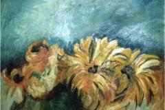 Girasoli - Olio su tela 50 x 70 - € 200