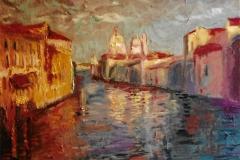 Angolo di Venezia - Olio su carta 50 x 35 (non disponibile) - € 150