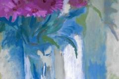Fiori rosa - 50 x 35