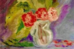Il vaso bianco - 50 x 35