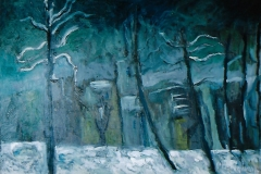 Neve nell'oscurità - 50 x 35