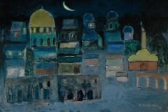 Notte a Gerusalemme - 70 x 50