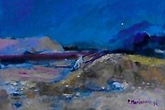 Paesaggio - Olio su carta 50 x 35 - € 150