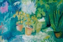 Un mercato di fiori - 50 x 35