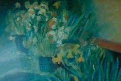 Vaso con fiori - Olio su tela 40 x 30 - € 150